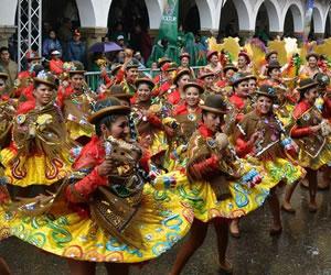 Así se vivió el Carnaval de Oruro 2015