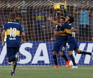 Boca impone su jerarquía en el inicio de la Libertadores