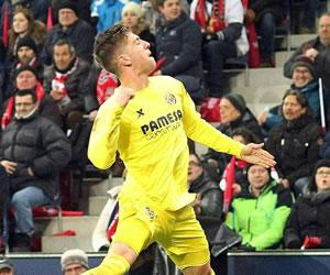 Doblete de Vietto para el triunfo de Villarreal en la Liga Europa
