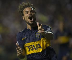 El debutante Osvaldo le da el triunfo a Boca ante Wanderers