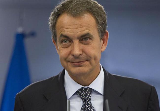 Expresidente Jose Luis Rodriguez Zapatero. Foto: EFE