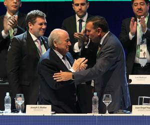 Juan Ángel Napout, elegido presidente de Conmebol por unanimidad