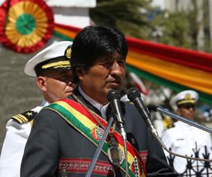 Presidente ratifica su compromiso de trabajo por El Alto en su 30 aniversario de fundación