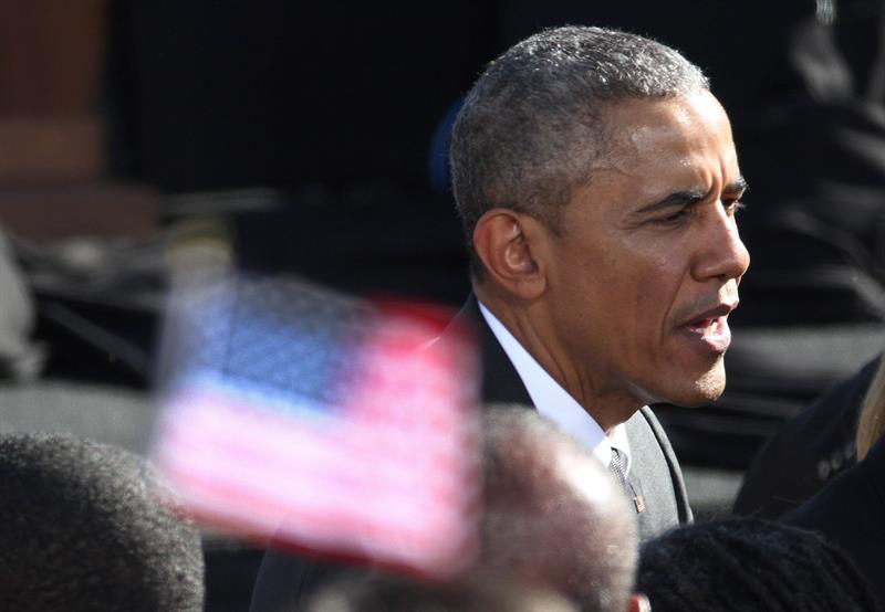 Obama cruza el puente de Selma, símbolo de lucha por los derechos civiles