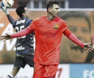 Messi, nuevo goleador de la liga española