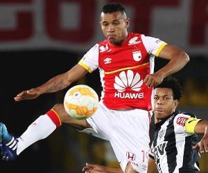 Santa Fe ante Atlético Mineiro en imágenes