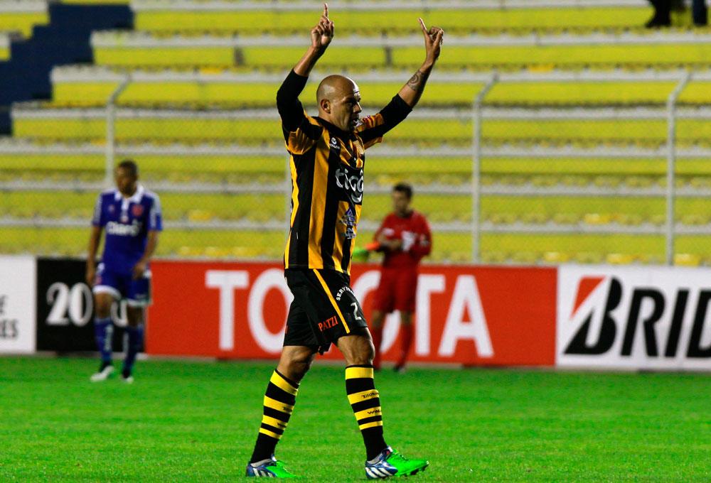 5-3. Imágenes de la victoria de The Strongest sobre la U de Chile
