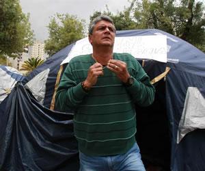 Ernesto Suárez continua con la huelga de hambre por posible veto de su candidatura