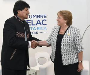 Morales revela datos de la antigua negociación con Bachelet sobre demanda de mar