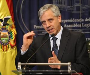 García Línera convoca a la población a votar para construir la nueva Bolivia
