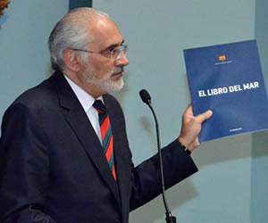 Carlos Mesa expondrá demanda marítima en Alemania, España y Costa Rica