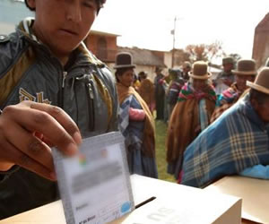 TED confirma triunfo del MAS en Gobernación y 28 municipios de Oruro