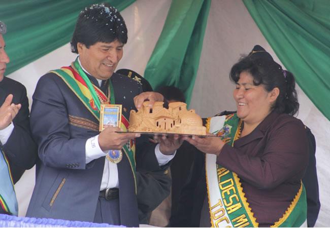 Municipio de Toco celebra su aniversario número 59