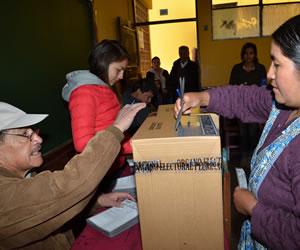 MAS gana la Gobernación y el TED descarta balotaje en Chuquisaca
