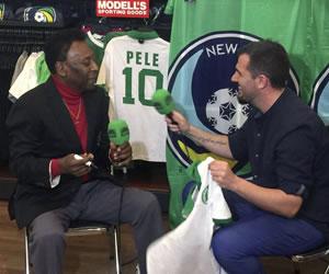 Pelé dice que prefiere a Messi por encima de Cristiano