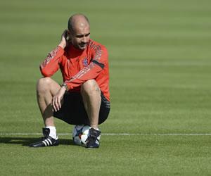 Guardiola y su momento en el Bayern