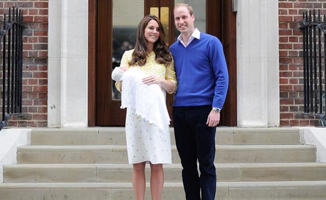 Realeza: Nació la hija de los duques de Cambridge