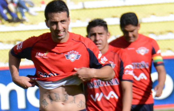 Wilstermann resigno posibilidades de clasificar a la Copa Libertadores al empatar con Nacional Potosí. ABI/Archivo