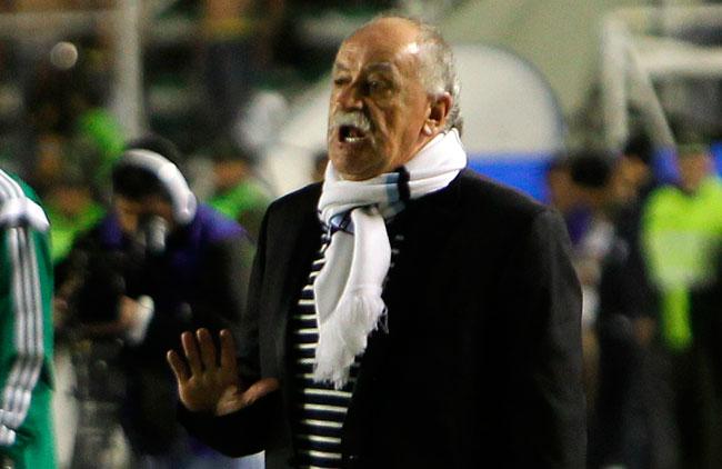 El técnico Xabier Azkargorta busca el bicampeonato, en su tercera temporada a la cabeza de Bolívar. EFE
