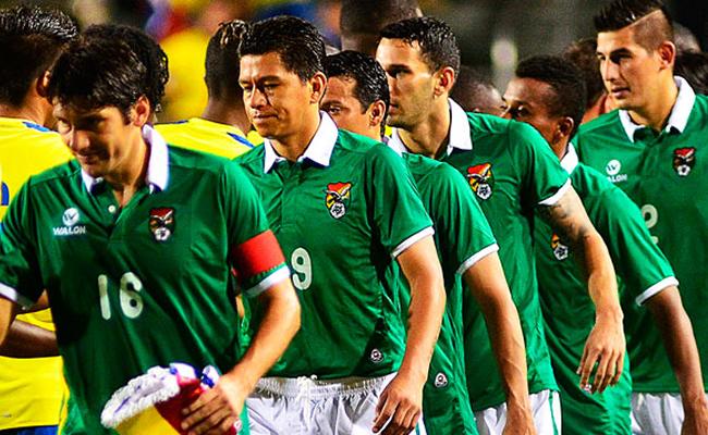 La Selección Boliviana quiere acabar con la mala racha que ha tenido en los últimos años. Foto: EFE
