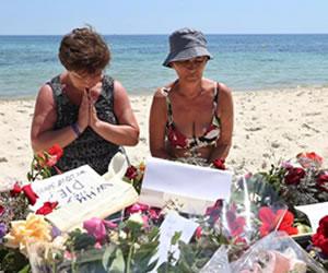 Británicos muertos en Túnez asciende a 15