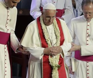Cerca de 18 mil policías y militares se alistan para la vista del Papa