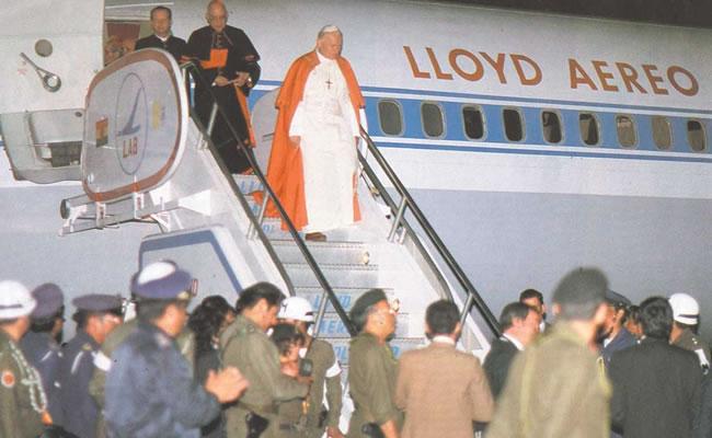 De Paulo VI a Francisco, 37 años de historia singular. Foto: ABI