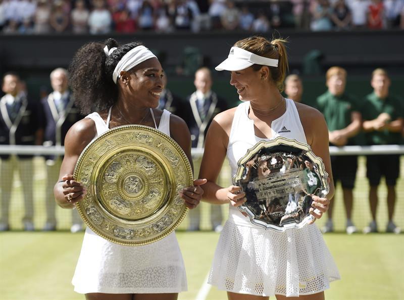 Serena Williams reina de nuevo en Wimbledon. Foto: EFE