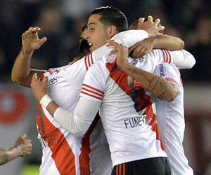 River Plate venció a Guaraní y se afianza en la Copa Libertadores