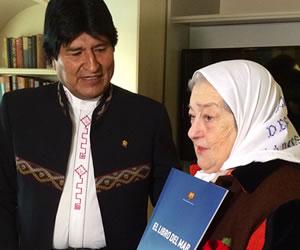 Madres de Plaza de Mayo proponen campaña 'Mar para Bolivia'