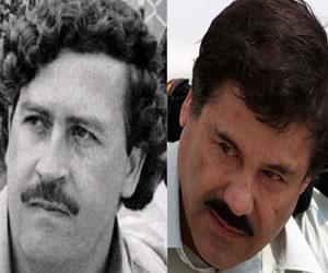 Las historias 'El Chapo' vs. Pablo Escobar