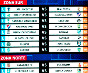 Bolivianos se enfrentarán a rivales de Uruguay y Paraguay