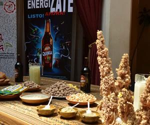 La quinua real se destaca en el pabellón boliviano en Expo Milán