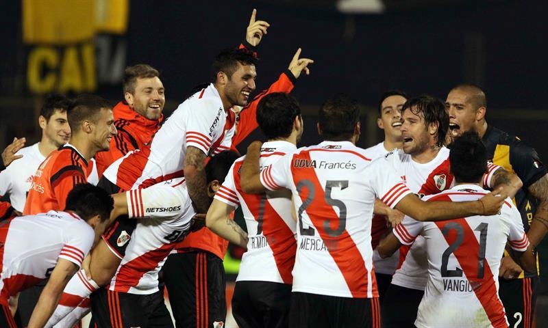 Vea en imágenes la clasificación de River Plate
