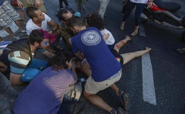 Seis personas apuñaladas deja marcha gay en Jerusalén