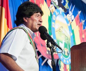 Evo Morales: Bolivia ahora sí es libre