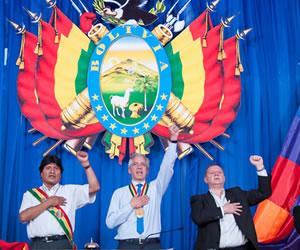 Vicepresidente: Estado Plurinacional es muestra de igualdad