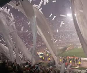 Así recibieron a River Plate en la gran final