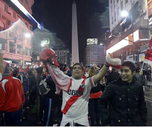 Lo que usted no vio la celebración de River Plate