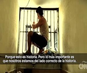 Celda de prisión del opositor venezolano Leopoldo López