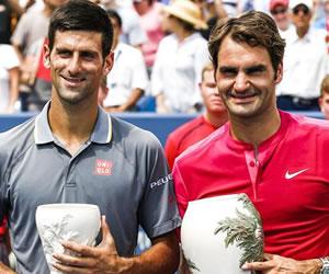 Federer supera a Djokovic y es el rey en Cincinnati