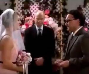 The Big Bang Theory: Filtran imágenes de la boda de Leonard y Penny