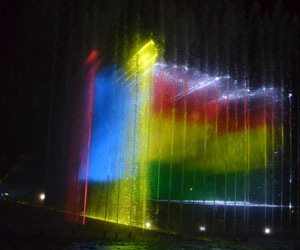 Cochabamba luce espectaculares 'Aguas Danzantes'