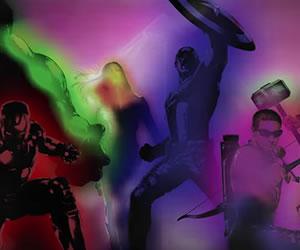 'Los Vengadores' al estilo de 'Power Rangers'