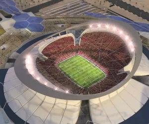 El estadio de la final del Mundial Qatar 2022 ya está en construcción