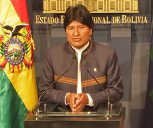 Evo Morales califica de histórico el fallo de la CIJ