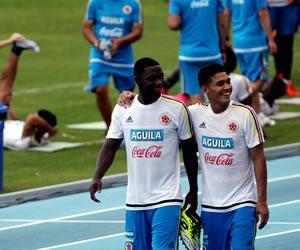 Selección Colombia: lo que nadie vio del entrenamiento en el Metropolitano