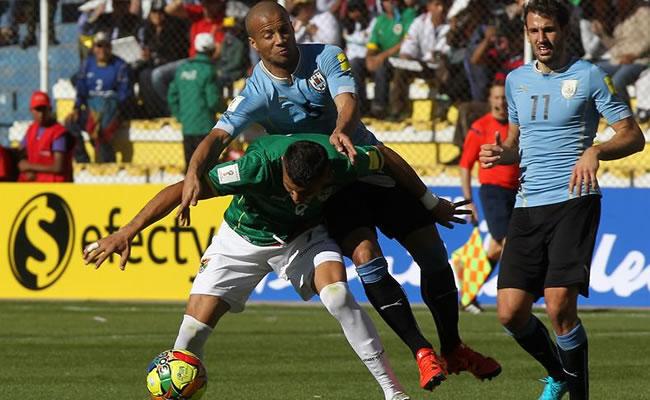 La derrota de Bolivia ante Uruguay en imágenes