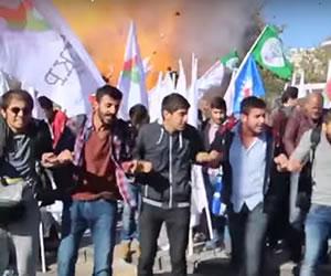 Vídeo muestra el momento exacto de una de las explosiones en Ankara