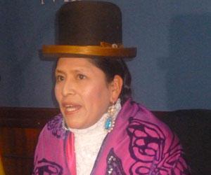 Bolivia lucha contra el acoso político a mujeres